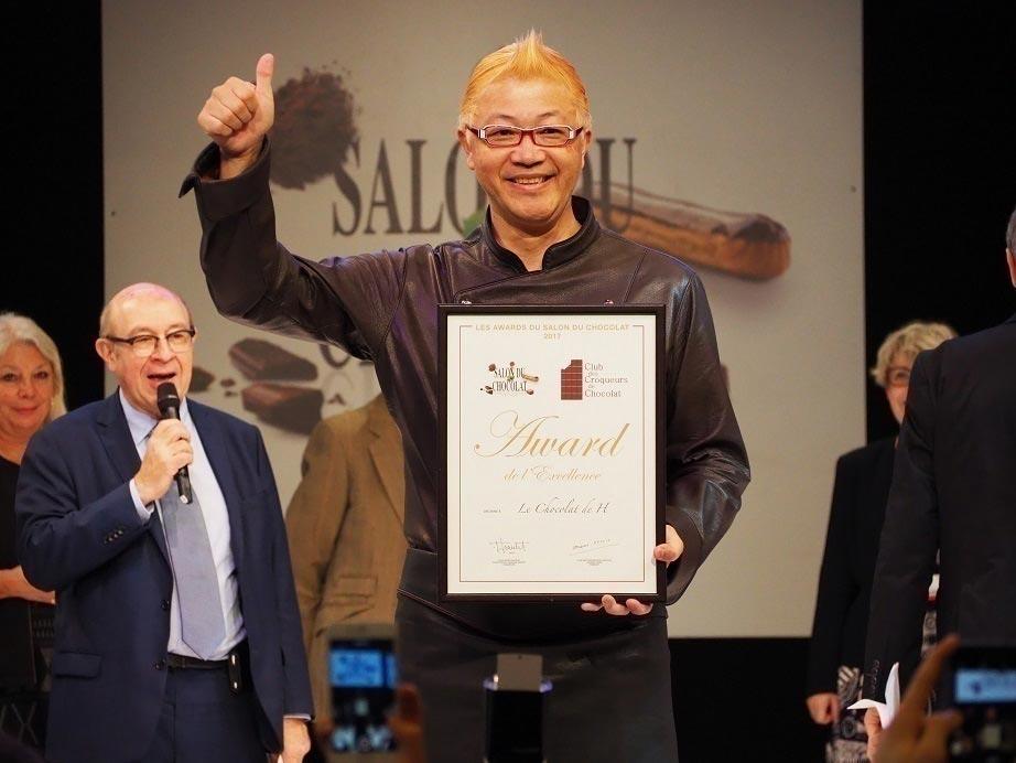 辻口博啓 発酵と世界のカカオの発酵をマリアージュ 5年連続金賞受賞